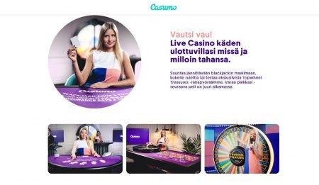 Casumo live kasino