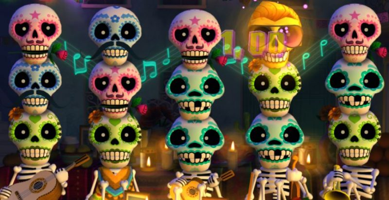 Esqueleto Explosivo voitto