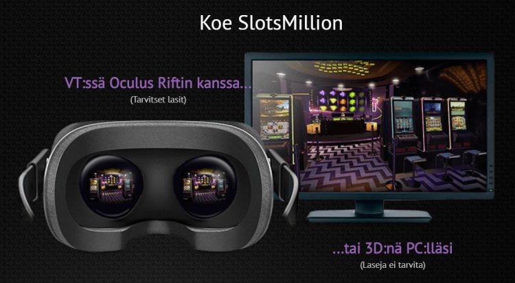 SlotsMillion virtuaalikasino