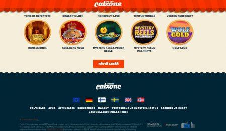 Casino Calzone tiedot