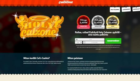 Holy calzone