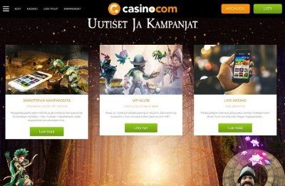 Casino.com kampanjat