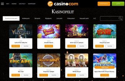 casino.com kasinopelit