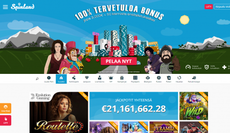 spinland kasino
