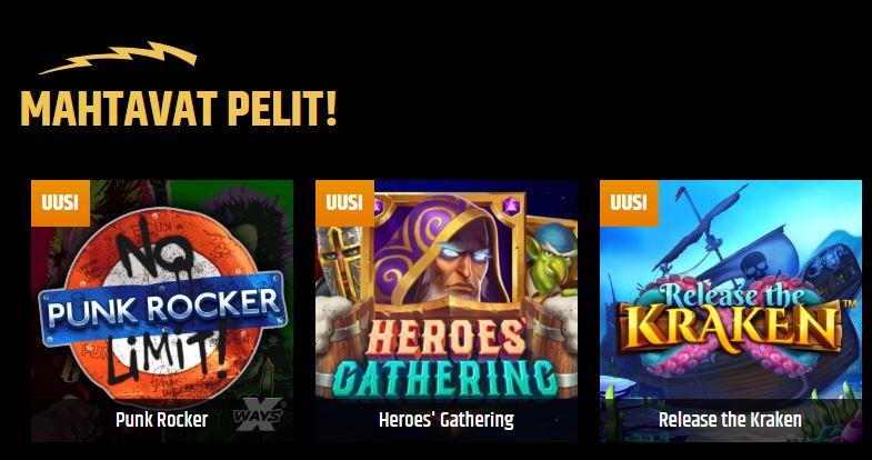 Metal Casino pelit