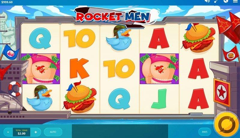 Rocket Men kolikkopeli