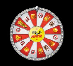 Wheel of Rizk onnenpyörä