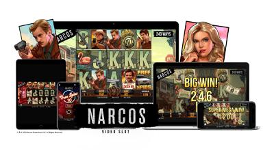 Netent Narcos kolikkopeli