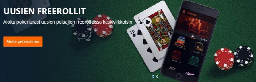 Betsson pokeriturnaukset