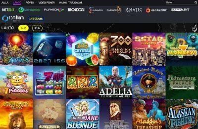 Bonanza Game Casino pelivalikoima