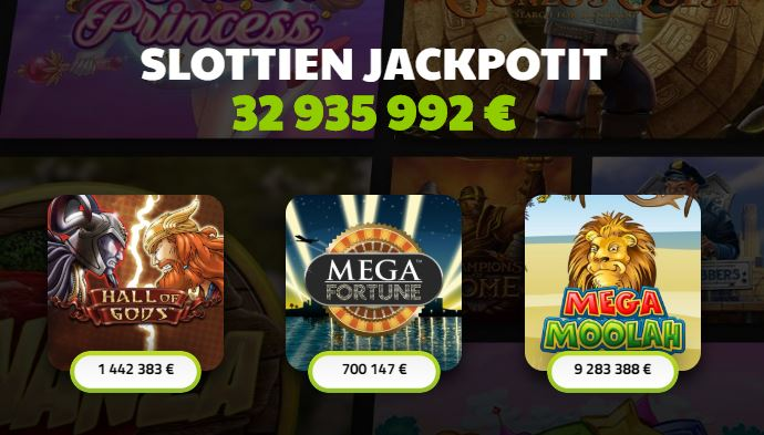 Casino jefe jackpotit