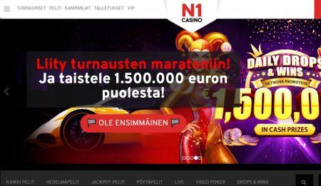N1 Casino etusivu