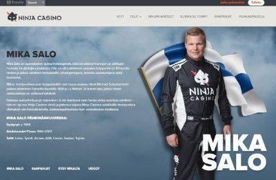 Ninja Casino ja Mika Salo