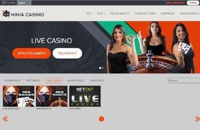 Ninja Casino livekasino
