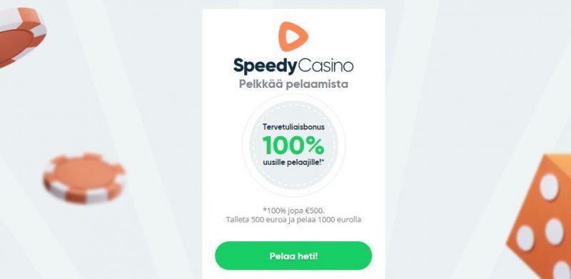 Speedy Casino pelkkää pelaamista