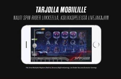 SpinRider mobiilikasino