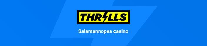 Thrills casino ulkoasu