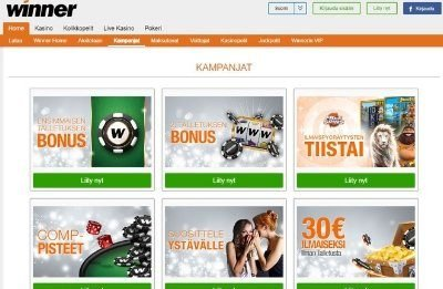 Winner Casino kampanjat