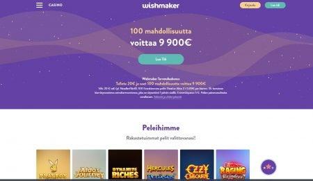 Wishmaker Casino etusivu