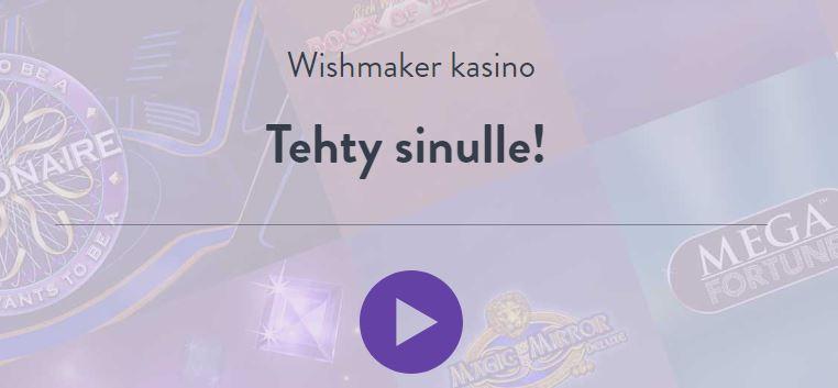 Wishmaker Casino tehty sinulle