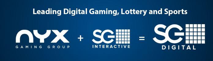 nyx gaming sekä sg digital ovat suurta perhettä