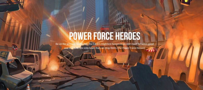 Push Gaming Power force Heroes