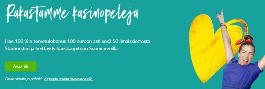 Suomiarvat tervetuloa