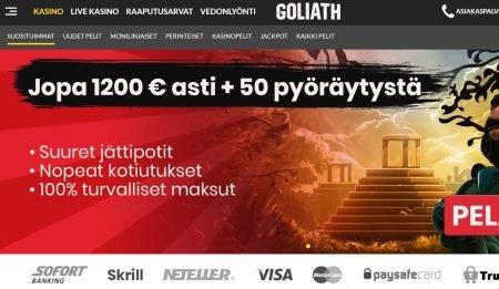 goliath casino etusivu