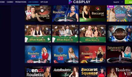 casiplay live kasino