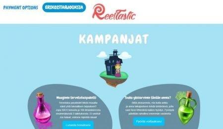 reeltastic kampanja