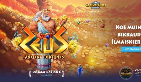 Casino Gods Ancient Fortunes