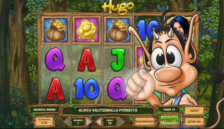 Hugo peikko peli aloitusnäkymä