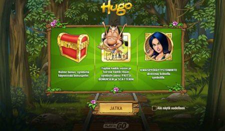 Hugo Peikko peli symbolit