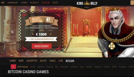 king billy nettikasino