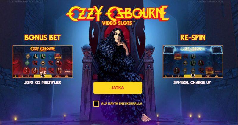 Ozzy Osbourne kolikkopelin erikoistoiminnot