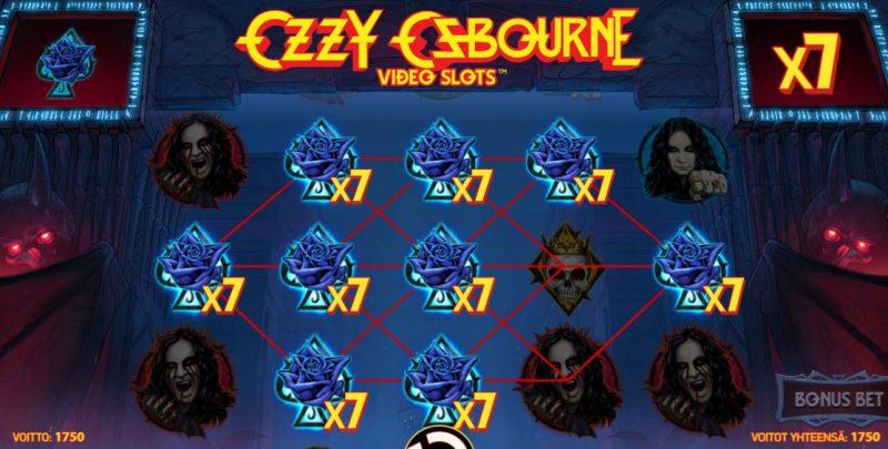 Ozzy Osbourne megavoitto, voittokertoimet