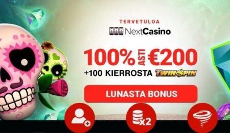 nextcasino casinobonus