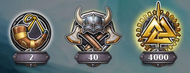 erikoissymbolit pelissä viking runecraft