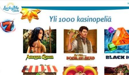luckyme slots kasinolla yli 1000 peliä