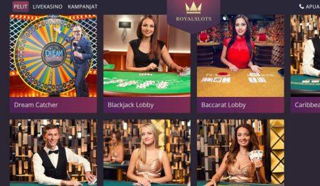 royal slots live kasino