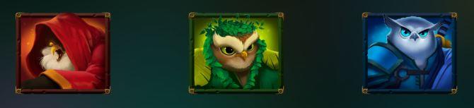 pöllösymbolit owl kolikkopelissä