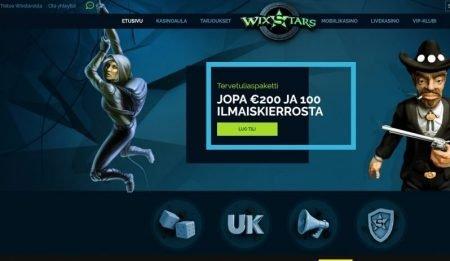 wixstars etusivu