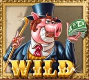 wild-symboli piggy riches kolikkopelissä