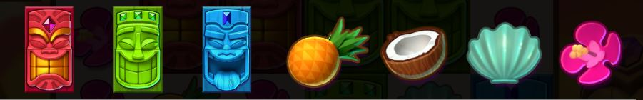 symbolit aloha kolikkopelissä