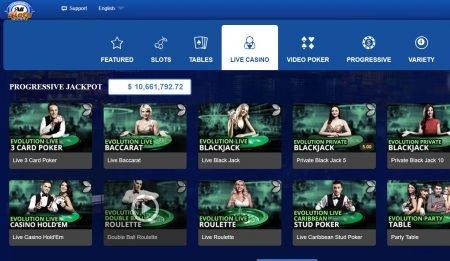 all slots live kasino