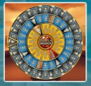 bonuspelissä kolme erilaista jackpotia