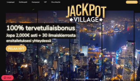 jackpotvillage live kasino