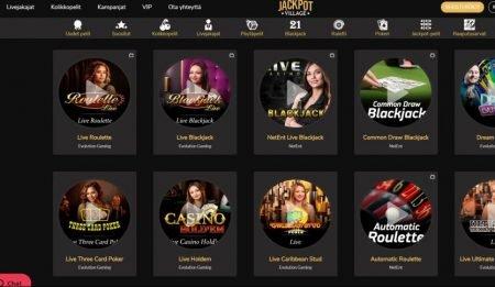 live kasino jackpotvillage