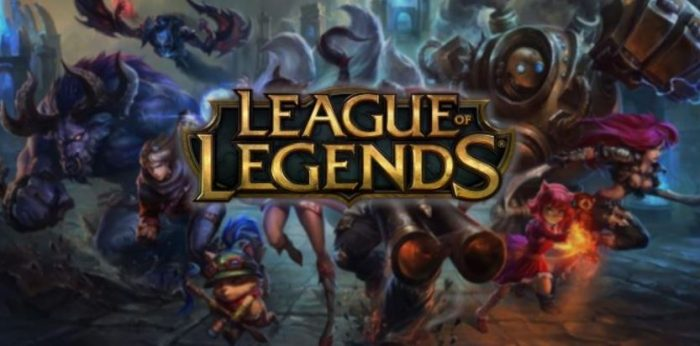 league of legends peli