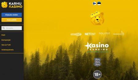 karhu kasino on suomalainen nettikasino